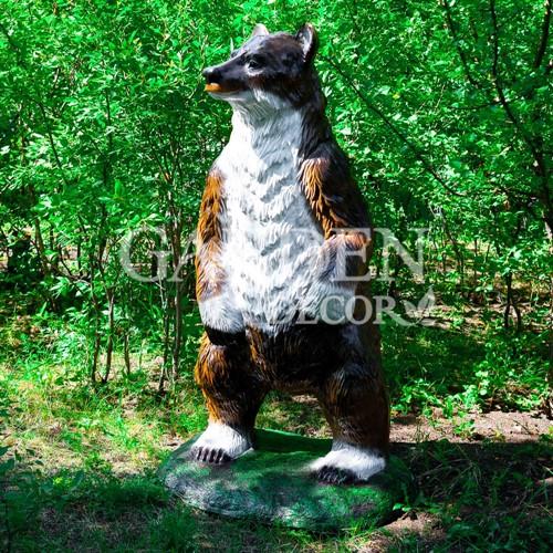 Садово-парковая фигура медведь