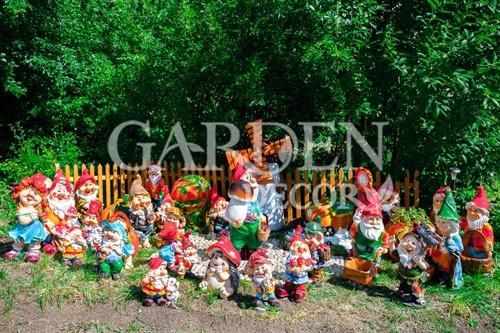 Садовые фигуры из полистоуна