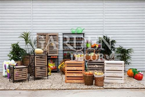 Деревянные ящики для хранения