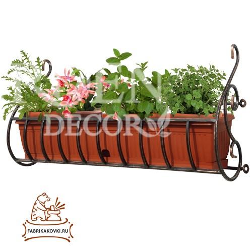 Для цветочных ящиков кронштейн