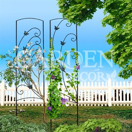 Шпалера садовая с бабочками