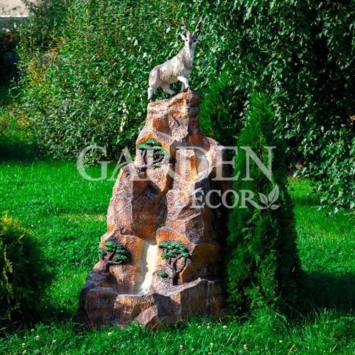 Фонтан с горным козлом - фото 42402