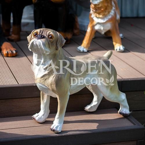 Фигура собаки Мопс - фото 42438