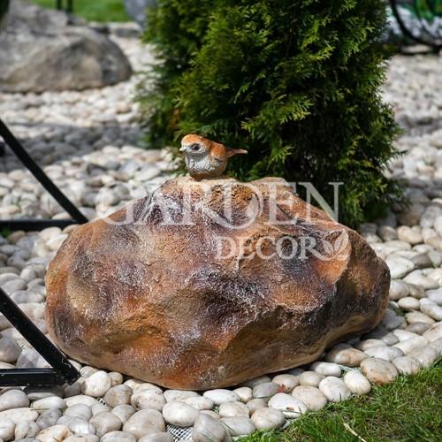 Фигура Камень с птичкой - фото 43004