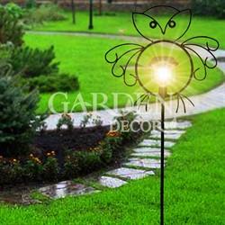 Шпалера декоративная Совенок с фонарем