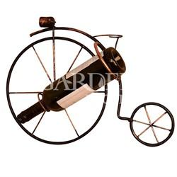 Подставка винная Велосипед на стену