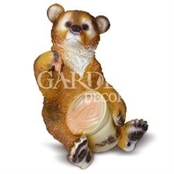 Медведь с бочонком F01214