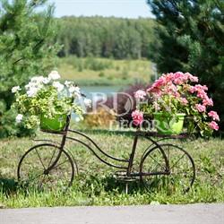 Велосипед кованый