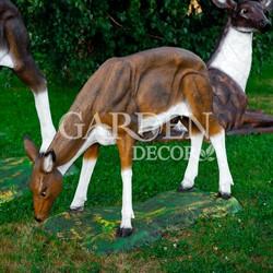 Садово-парковая фигура олененка
