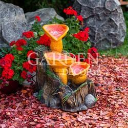 фонтан грибы
