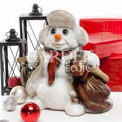 Новогодняя фигура Снеговик