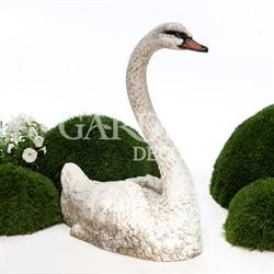 Садово-парковая скульптура Лебедь