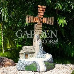 Садовая фигура Мельница на холме U07519