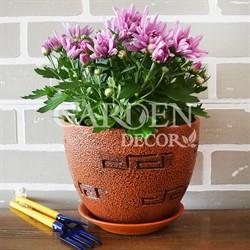 Горшки для цветов МЕАНДР №2 2л