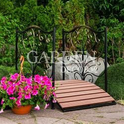 Мост садовый металл и террасная доска 862-25R