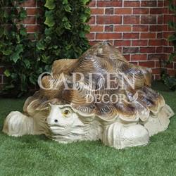 Крышка люка Черепаха декоративная садовая