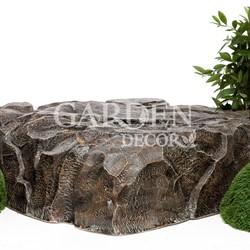 Крышка люка Камень стеклопластик U08303