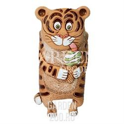 Кашпо Тигр на ножках с мороженым 1л