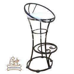 Барный кованый стул
